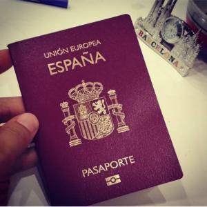 THE SPANISH PASSPORT