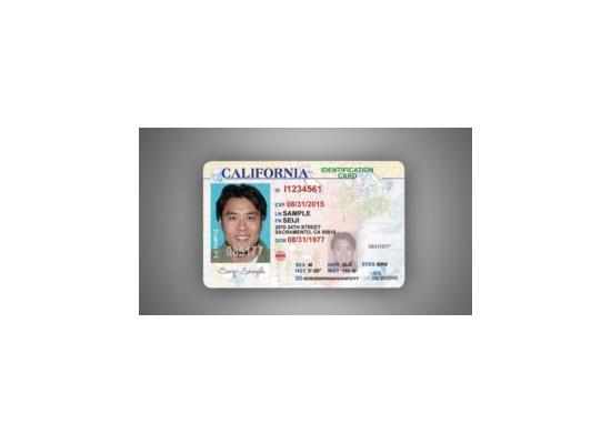 CALIFORNIA ID CARD