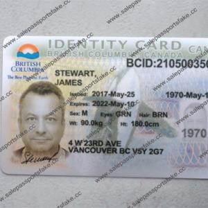 CANADIAN ID CARD