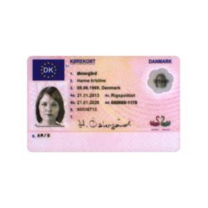 DENMARK ID CARD