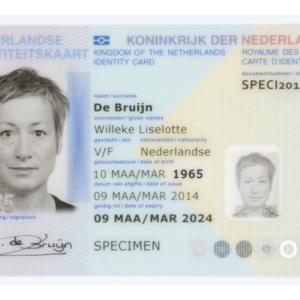 DUTCH ID CARD