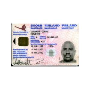 FINNISH ID CARD