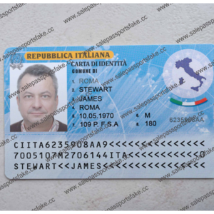 ITALIAN ID CARD