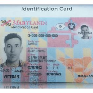 MARYLAND ID CARD