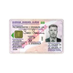SWEDISH ID CARD