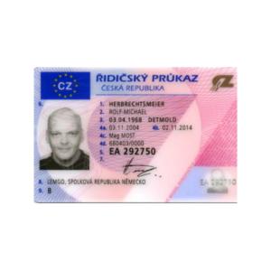 CZECH REPUBLIC DRIVER'S LICENSE