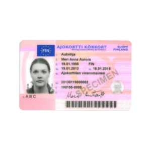 FINNISH DRIVER'S LICENCE