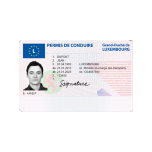 LUXEMBOURG DRIVING LICENSE ONLINE