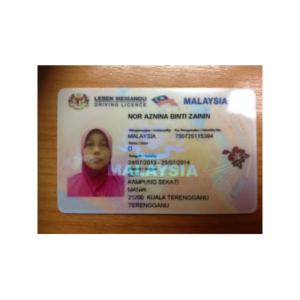 MALAYSIAN DRIVER'S LICENSE ONLINE